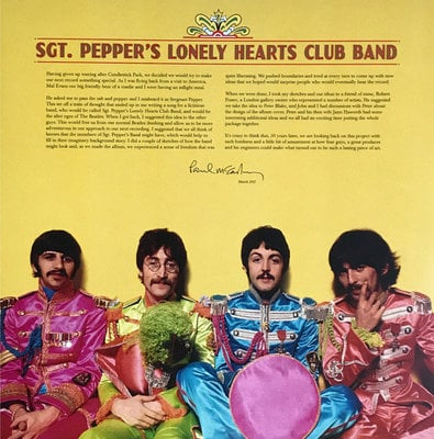 The Beatles Sgt. Pepper's Lonely Hearts Club Band (2 LP)