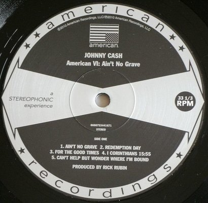Johnny Cash American VI: Ain't No Grave (Vinyl LP)
