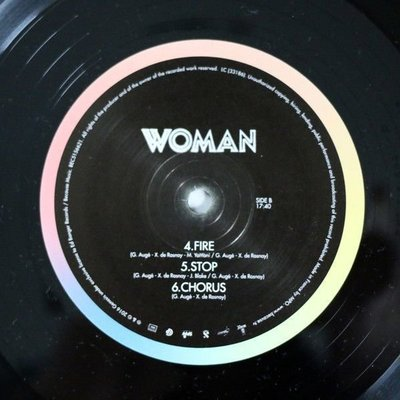 Justice Woman (2 LP + 1 CD)