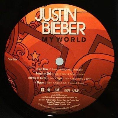 Justin Bieber My World (Vinyl LP)