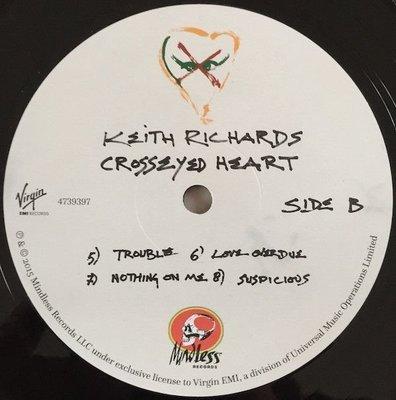 Keith Richards Crosseyed Heart (2 LP)