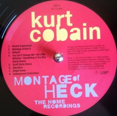 Kurt Cobain Montage Of Heck - The Home Recordings (2 LP)