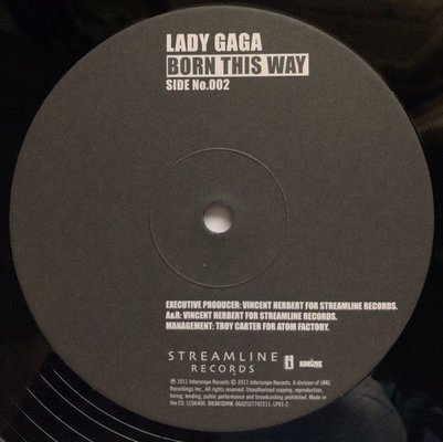Lady Gaga Born This Way (2 LP)