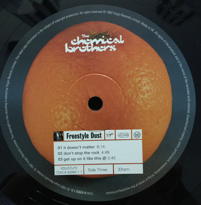 The Chemical Brothers Dig Your Own Hole (2 LP)