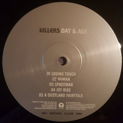 The Killers Day & Age (Vinyl LP)