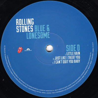 The Rolling Stones Blue & Lonesome (2 LP)