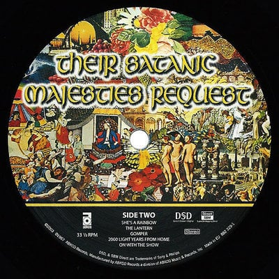 The Rolling Stones Their Satanic Majesties (Vinyl LP)