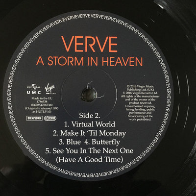 The Verve A Storm In Heaven (LP)