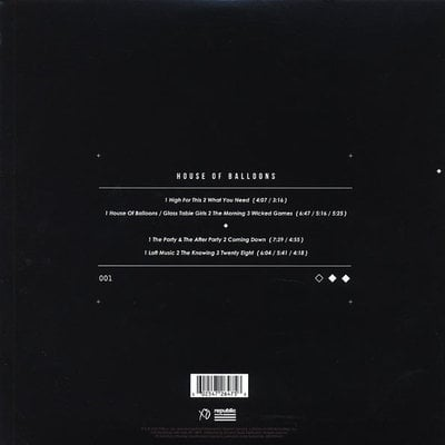The Weeknd House Of Balloons (2 LP)