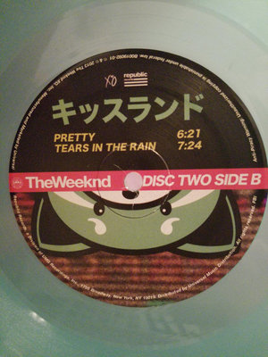 The Weeknd Kiss Land (2 LP Coloured Vinyl)