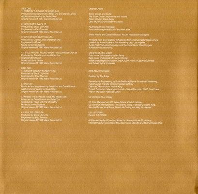 U2 The Best Of 1980-1990 (2 LP)