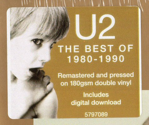 U2 The Best Of 1980-1990 (2 LP)