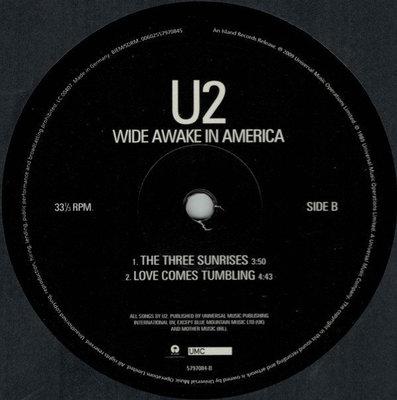 U2 Wide Awake In America (Vinyl LP)