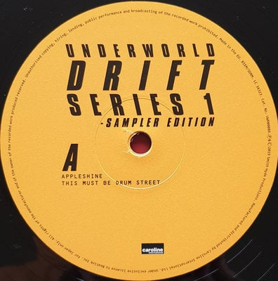 Underworld Drift Series 1 Sampler Edition (2 LP)