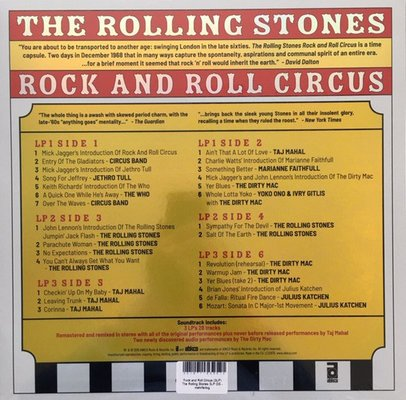 Various Artists The Rolling Stones Rock And Roll Circus (3 LP)