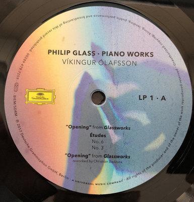 Víkingur Ólafsson Philip Glass: Piano Works (2 LP) (180 Gram)
