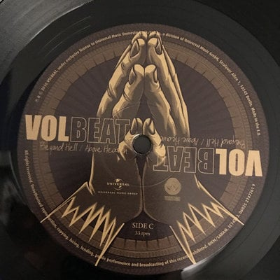 Volbeat Beyond Hell / Above Heaven (2 LP)