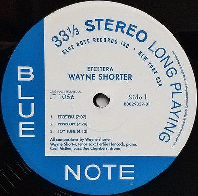 Wayne Shorter Etcetera (Vinyl LP)