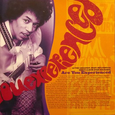 The Jimi Hendrix Experience Are You Experienced (Stereo Version) (2 LP)