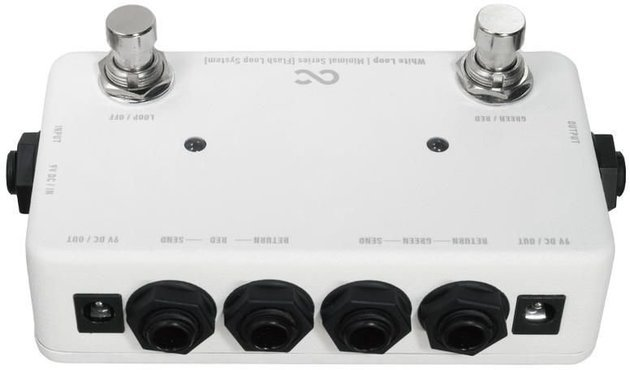 One Control White Loop Footswitch