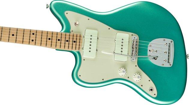 Fender American Pro Jazzmaster MN Mystic Seafoam LH