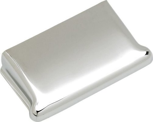 Fender Pure Vintage Stratocaster Ashtray Bridge Cover Chrome