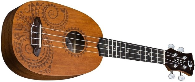 Luna Tattoo Mahogany Pineapple Soprano Pack