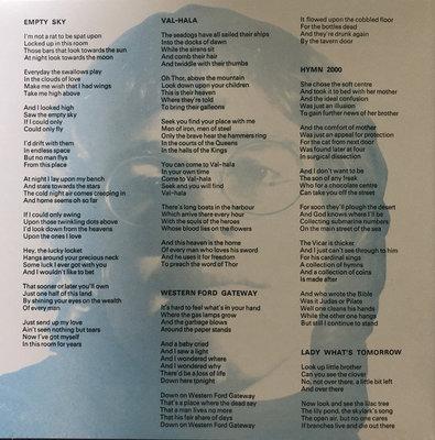 Elton John Empty Sky (Vinyl LP)