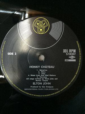 Elton John Honky Chateau (Vinyl LP)