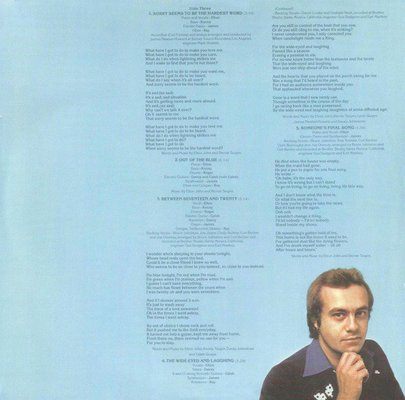Elton John Blue Moves (2 LP)