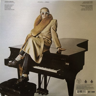 Elton John Here And There (Vinyl LP)