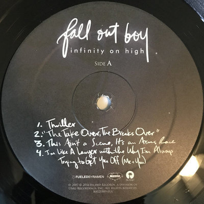 Fall Out Boy Infinity On High (2 LP)