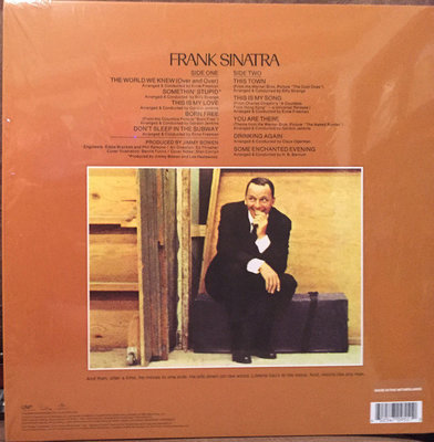 Frank Sinatra The World We Knew (Vinyl LP)
