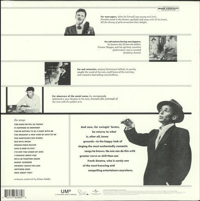 Frank Sinatra Songs For Swingin' Lovers (Vinyl LP)