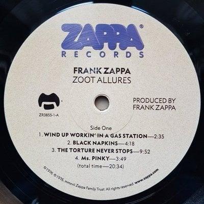 Frank Zappa Zoot Allures (Vinyl LP)