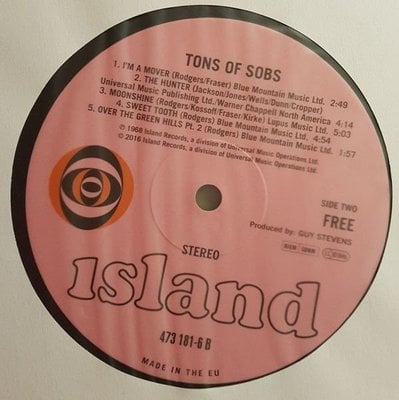 Free Tons Of Sobs (Vinyl LP)