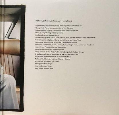 Lenny Kravitz 5 (Album) (2 LP)