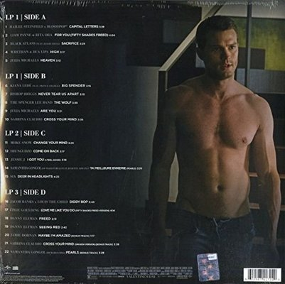 Fifty Shades Freed Original Motion Picture Soundtrack (2 LP)