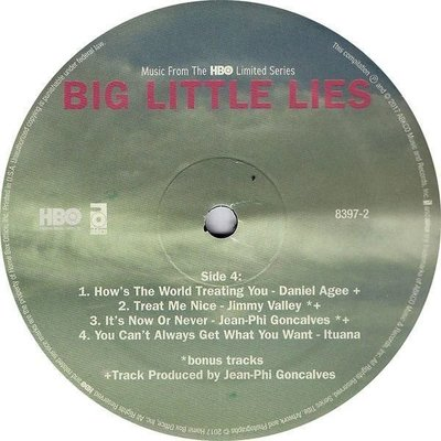 Big Little Lies Music From the HBO Limited Series (2 LP)
