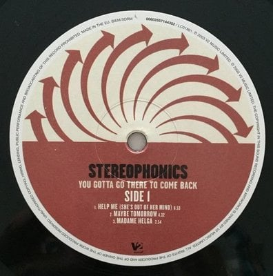 Stereophonics You Gotta Go There To Come (2 LP)