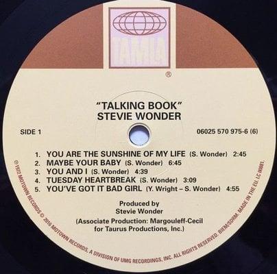 Stevie Wonder Talking Book (Vinyl LP)