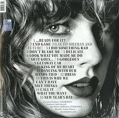 Taylor Swift Reputation (2 LP)