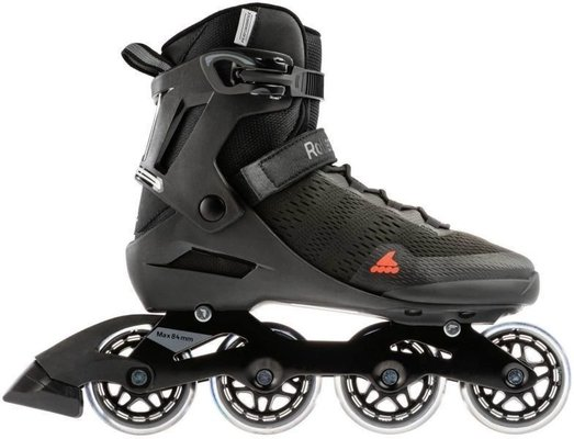 Rollerblade Spark 80 Black/Warm Orange 265
