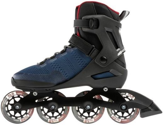 Rollerblade Spark 84 Dark Denim/Jester Red 305