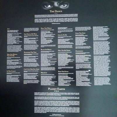 Michael Jackson Dangerous (2 Picture Disc LP)