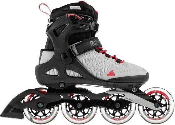 Rollerblade Sirio 90 W Light Grey/Geranium 260