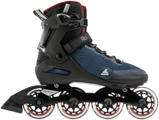 Rollerblade Spark 84 Dark Denim/Jester Red 300