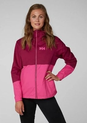 Helly Hansen W Aran Jacket Plum L