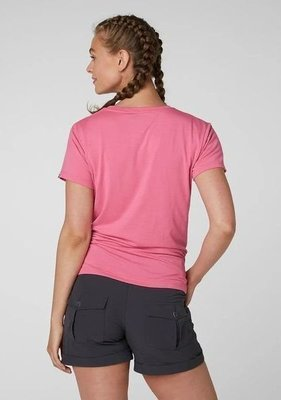Helly Hansen W Skog Graphic T-Shirt Azalea Pink XL