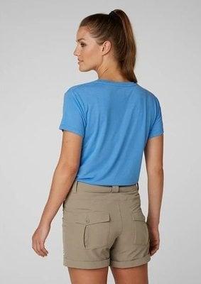 Helly Hansen W Skog Graphic T-Shirt Cornflower XS
